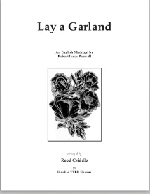 Lay a Garland (double ttbb chorus) pdf if ordered for entire cho